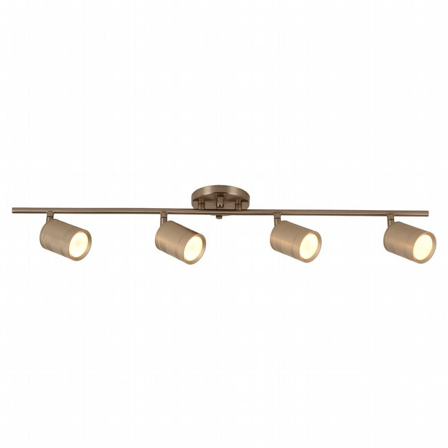 w33804mn30 Campbell 4 Light Matte Nickel Finish LED Ceiling Light - Discontinued