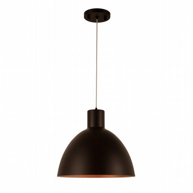 w33822mb12 Bowery 1 Light Matte Black Finish LED Ceiling Light