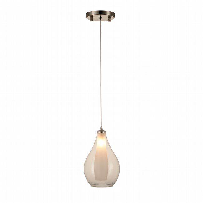 w33825mn5 Botella 1 Light Matte Nickel Finish G9 Ceiling Light