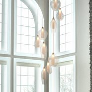 w33828mn22 Botella 9 Light Matte Nickel Finish G9 Ceiling Light