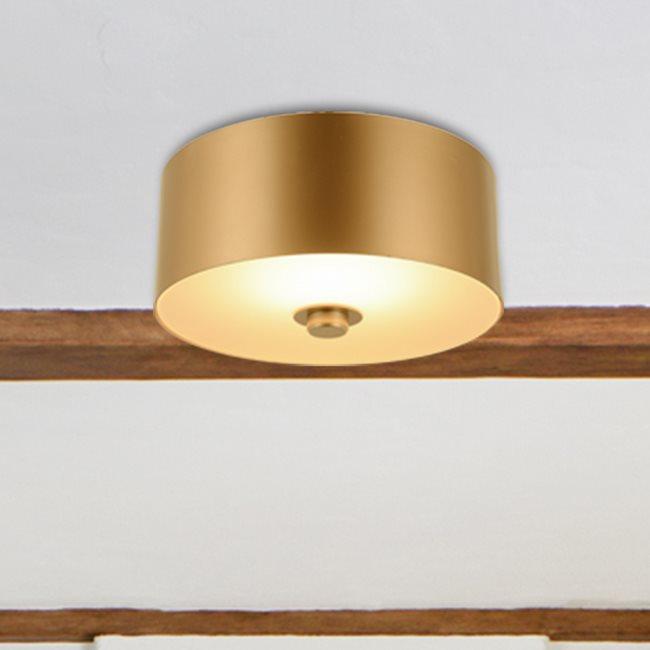 w33840mg9 Millie 1 Light Matte Gold Finish LED Ceiling Light