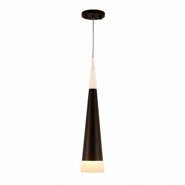 w33847mb6 Pinnacle 2 Light Matte Black Finish LED Ceiling Light