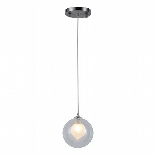 w33848mn5 Moulin 1 Light Brushed Nickel Finish G9 Ceiling Light