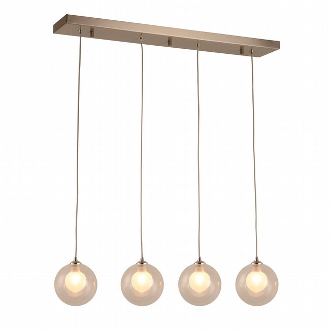 w33850mn28 Moulin 4 Light Brushed Nickel Finish G9 Ceiling Light