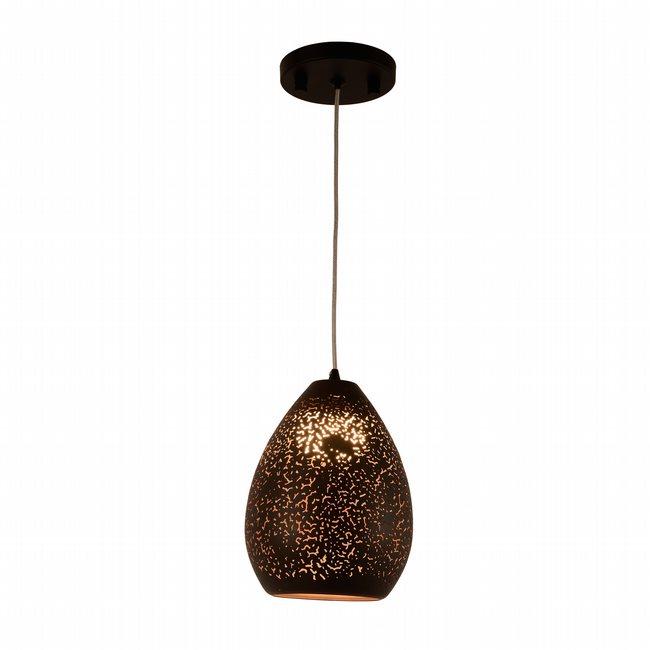w33859mb6 Java 1 Light Matte Black Finish LED Ceiling Light