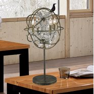 w53190ab18-cl Armillary 4 Light antique-bronze Finish Table Lamp