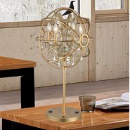 w53190mg18-gt Armillary 4 Light Matte Gold Finish Table Lamp