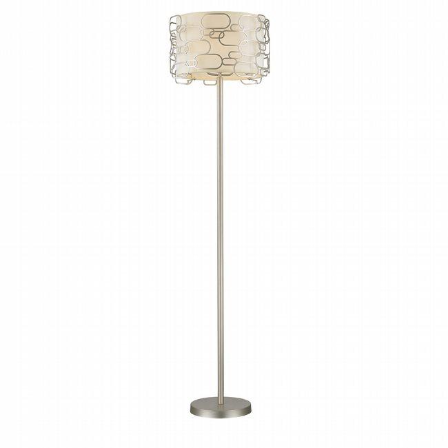 w63440mn20 Montauk 1 Light Matte Nickel Finish Floor Lamp
