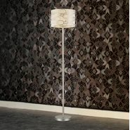 w63440mn16 Montauk 1 Light Matte Nickel Finish Floor Lamp