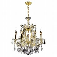 W83078G96 Maria Theresa 122 Light Gold Finish with Clear Crystal Chandelier - Discontinued