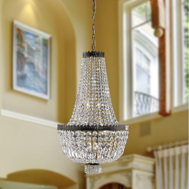 W83088b12 metropolitan 5 light antique bronze finish and clear metropolitan chandeliers aloadofball Gallery
