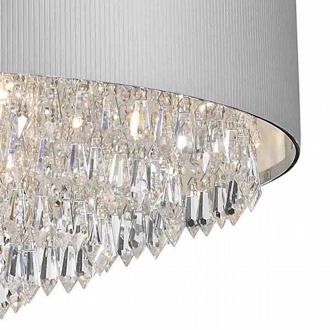 Previous; Next  sc 1 st  Worldwide Lighting & W83137C20-SV Gatsby Chandelier D20