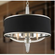 Gatsby 3 Light Matte Nickel Finish Pendant