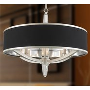 w83140mn26 Gatsby 4 Light Matte Nickel Finish Pendant