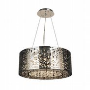 Aramis 12 Light Chrome Finish LED Crystal Chandelier