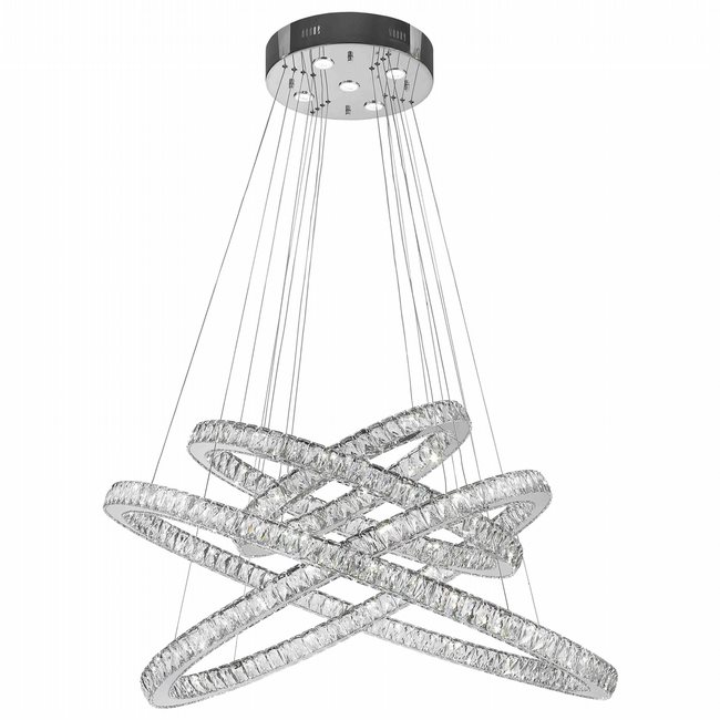 W83192kc48 galaxy chandelier clear crystal chrome finish 565 w83192kc48 galaxy chandelier clear crystal chrome finish 565 led light aloadofball Choice Image