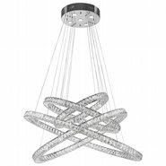 Galaxy Chandelier, Clear Crystal , Chrome Finish , 56+5 LED Light