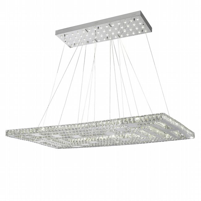 W83194kc60 galaxy chandelier clear crystal chrome finish 8056 w83194kc60 galaxy chandelier clear crystal chrome finish 8056 led light aloadofball Choice Image