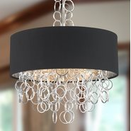 Catena 5 Light Matte Nickel Finish Pendant