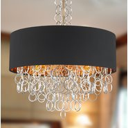 Catena 6 Light Matte Gold Finish Pendant