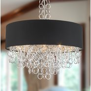 Catena 8 Light Matte Nickel Finish Pendant