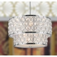 Paris 9 Light Chrome Finish Pendant
