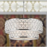 w83411c28 Paris 12 Light Chrome Finish Pendant