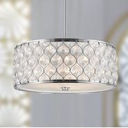 w83414c20 Paris 5 Light Champagne Finish Pendant