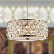 Paris 5 Light Champagne Finish Pendant