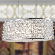 Paris 12 Light Chrome Finish Pendant