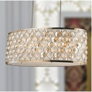 Paris 12 Light Champagne Finish Pendant