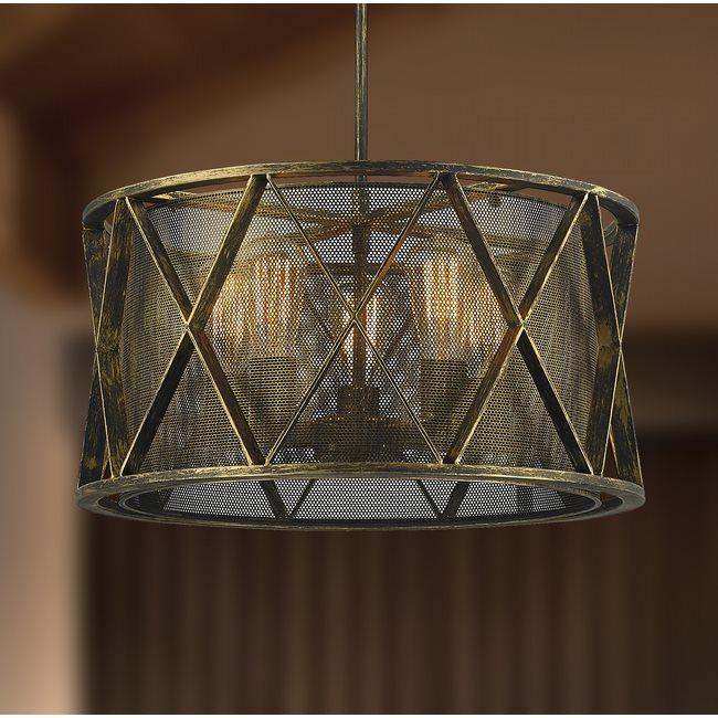 w83420ab20 Nautilus 5 Light Antique Bronze Pendant