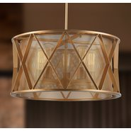 Nautilus 5 Light Matte Gold Finish Pendant