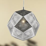 w83427c10 Geometrics 1 Light Chrome Pendant