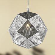 Geometrics 1 Light Chrome Pendant