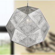 w83429c18 Geometrics 3 Light Chrome Pendant