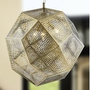 Geometrics 3 Light Champagne Pendant