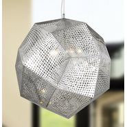 w83430c24 Geometrics 5 Light Chrome Pendant