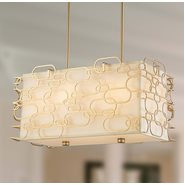 Montauk 8 Light Matte Gold Finish Pendant