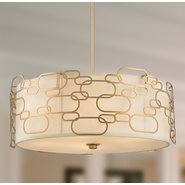 Montauk 9 Light Matte Gold Finish Pendant