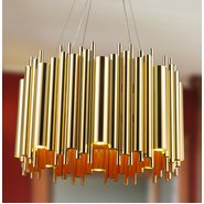 w83462cg24 Calliope 12 Light Champagne Chandelier