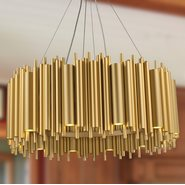 w83463cg36 Calliope 24 Light Champagne Chandelier