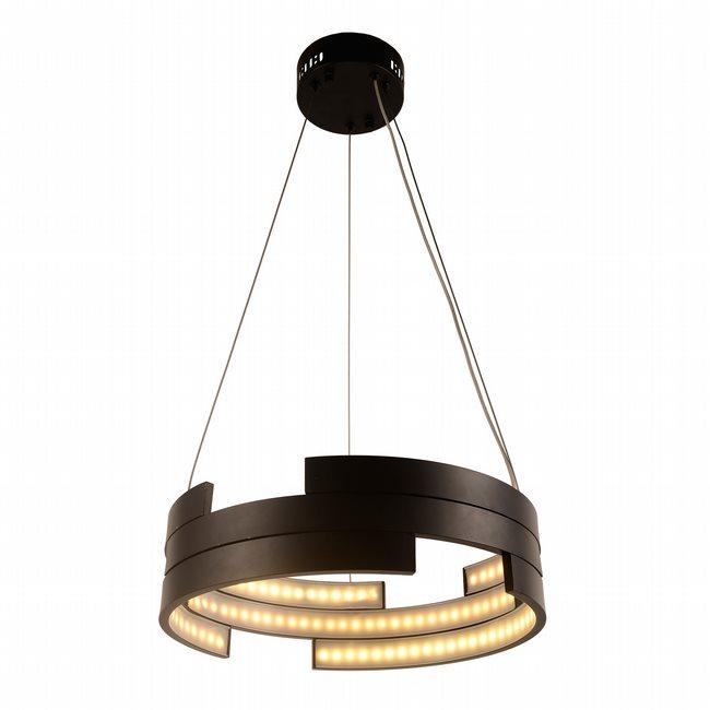 w83468mb16 Nexus Light Matte Black Finish LED Chandelier