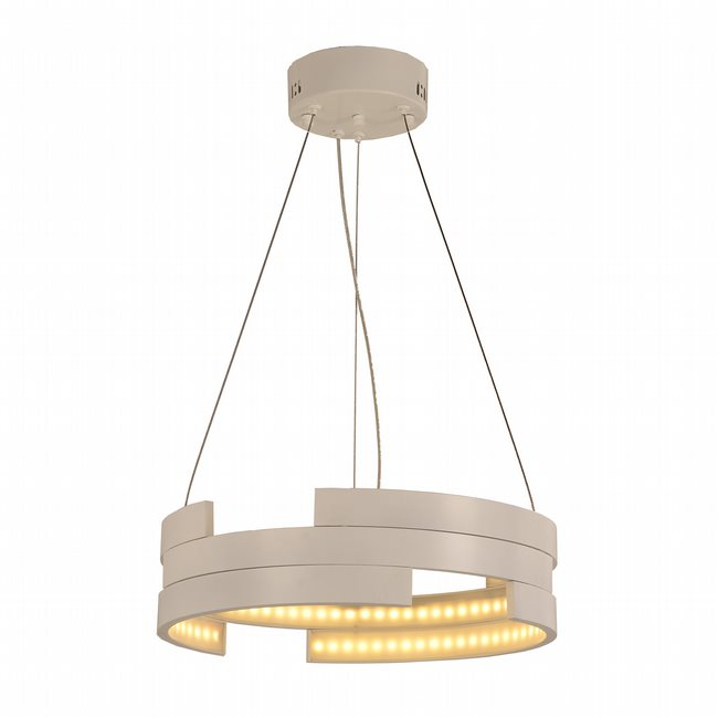 w83468w16 Nexus Light White Finish LED Chandelier