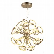w83474mn30 Asimov Light Matte Nickel Finish LED Chandelier