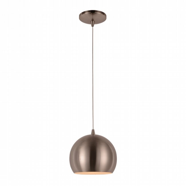 W83543BN8 Monroe Brushed Nickel Pendant, LEDx6W, 3000K,
