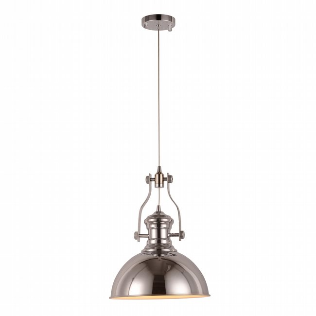 w83560c12 Broadway Chrome Pendant, LEDx6W, 3000K,