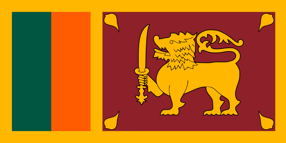 Sri Lanka Flag Download Svg Png