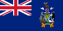 South Georgia and the South Sandwich Islands Flag