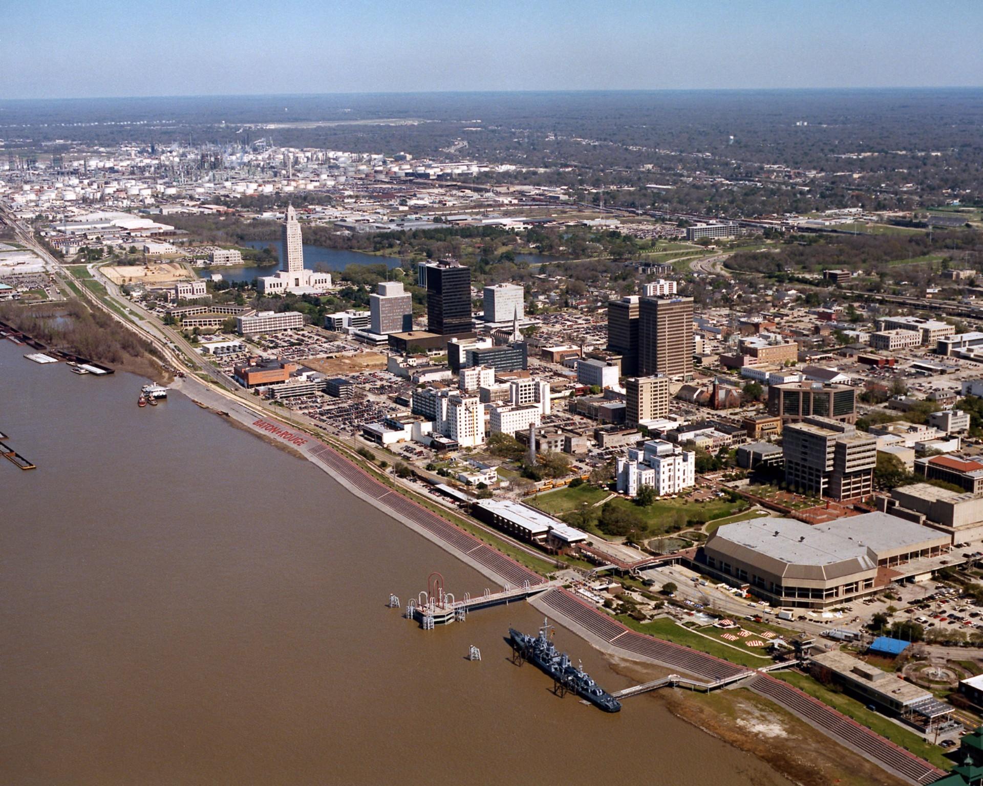 Baton Rouge Population in 2017
